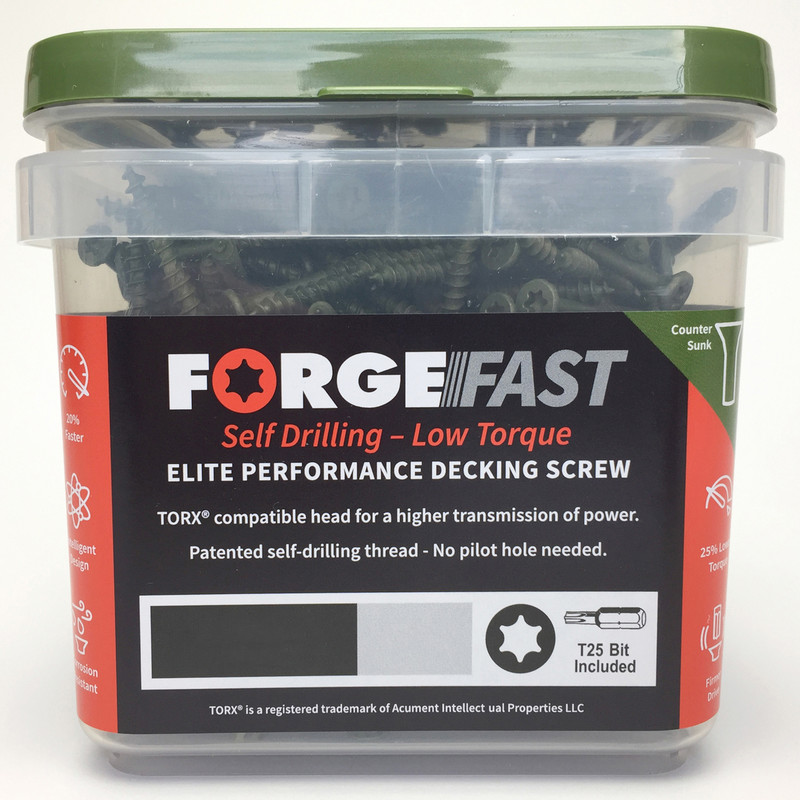 ForgeFast Decking Screw