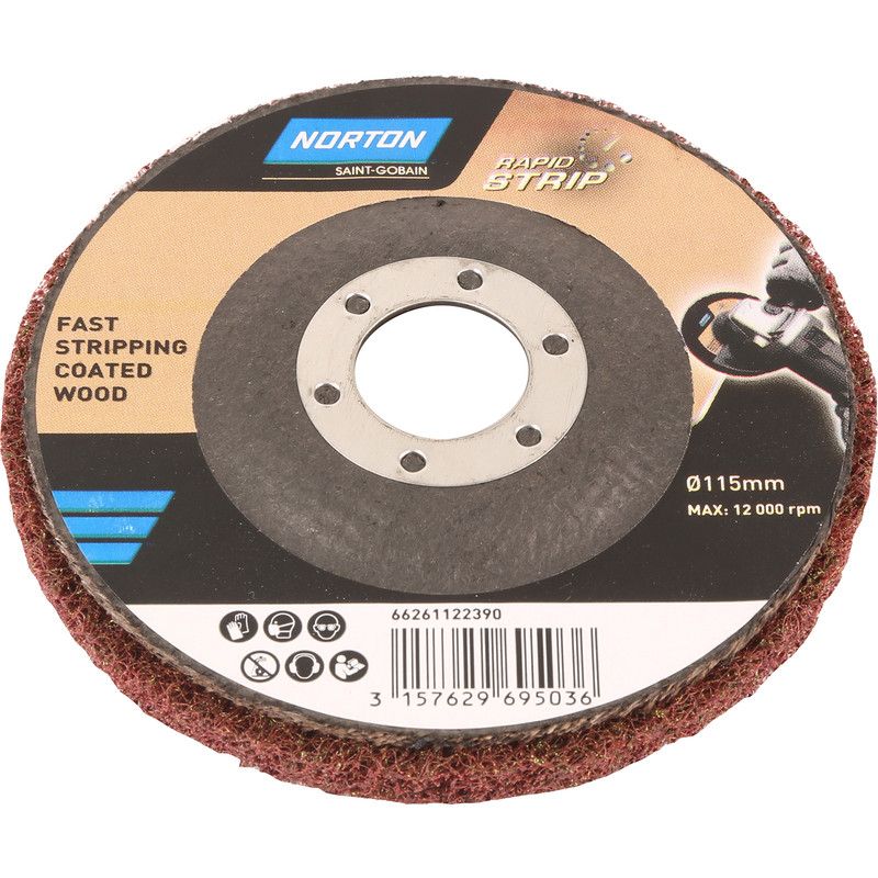 Rapid Strip Paint Varnish Remover Disc