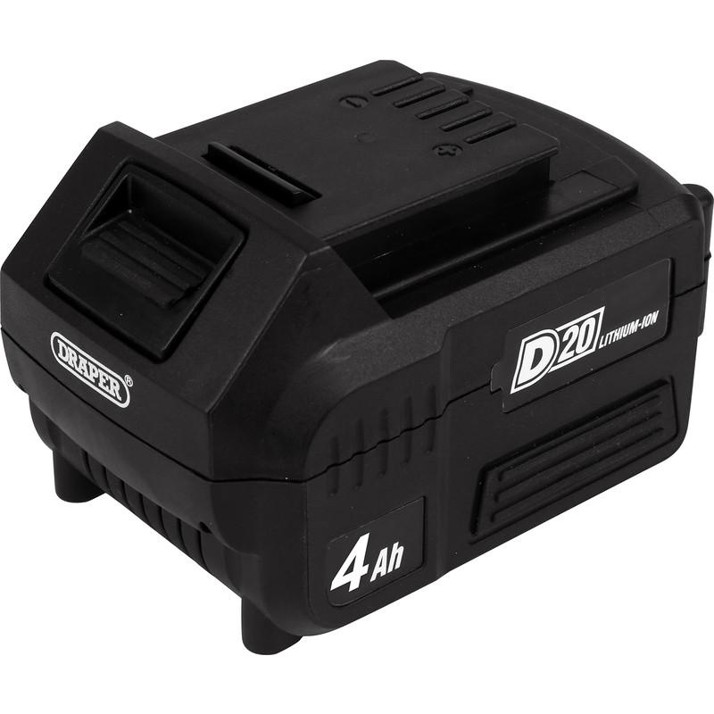 Draper D20 20V Li-ion Battery