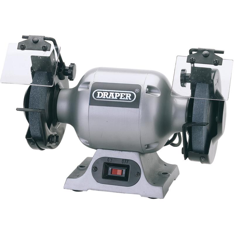 Draper 150mm 370W Heavy Duty Bench Grinder