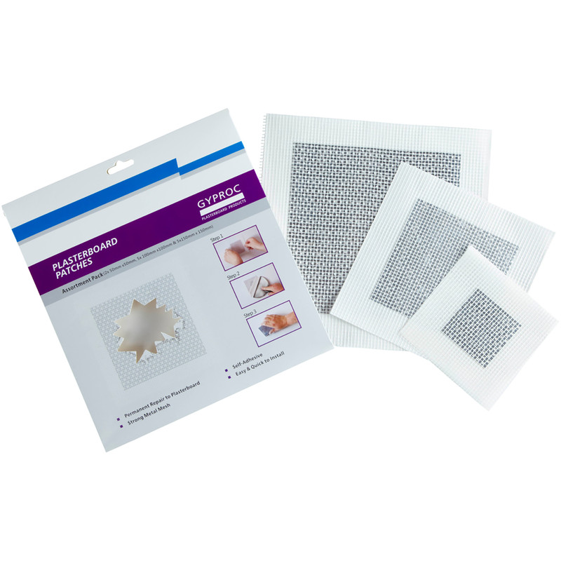 Gyproc Plasterboard Patch Assortment