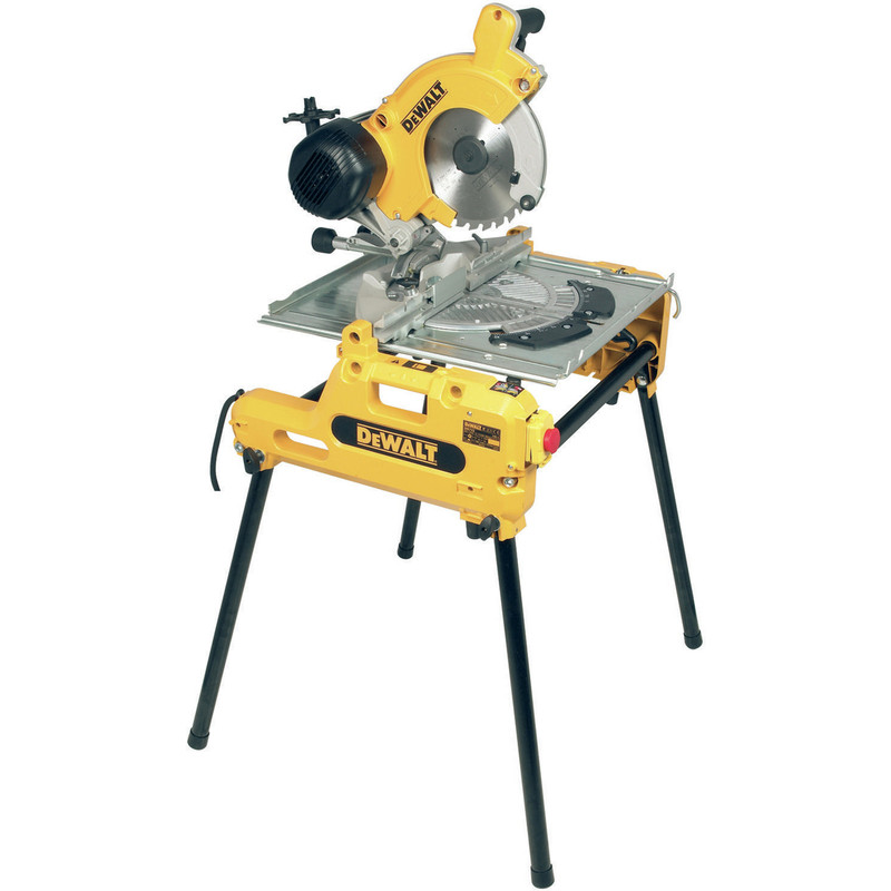 DeWalt DW743N 250mm Flip Over Saw
