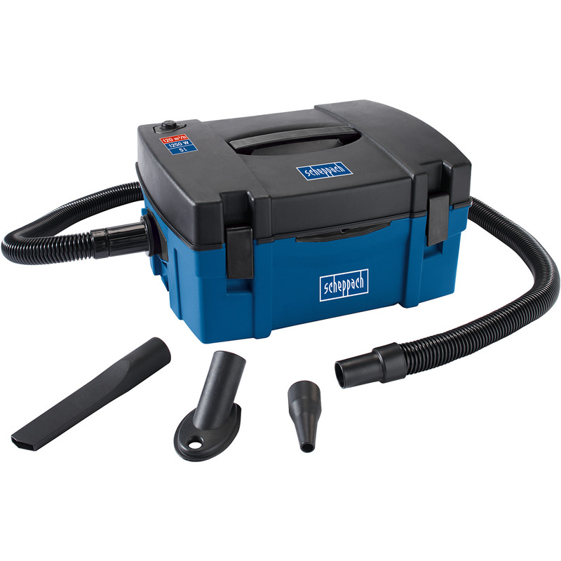 Scheppach HD2P 1250W 3 in 1 Portable Vac