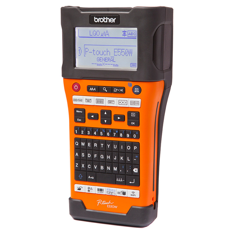Brother PTE550WVP Handheld Label Printer With Wi-Fi