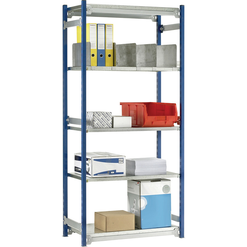 Barton Boltless Shelving Initial Bay 5 Tier