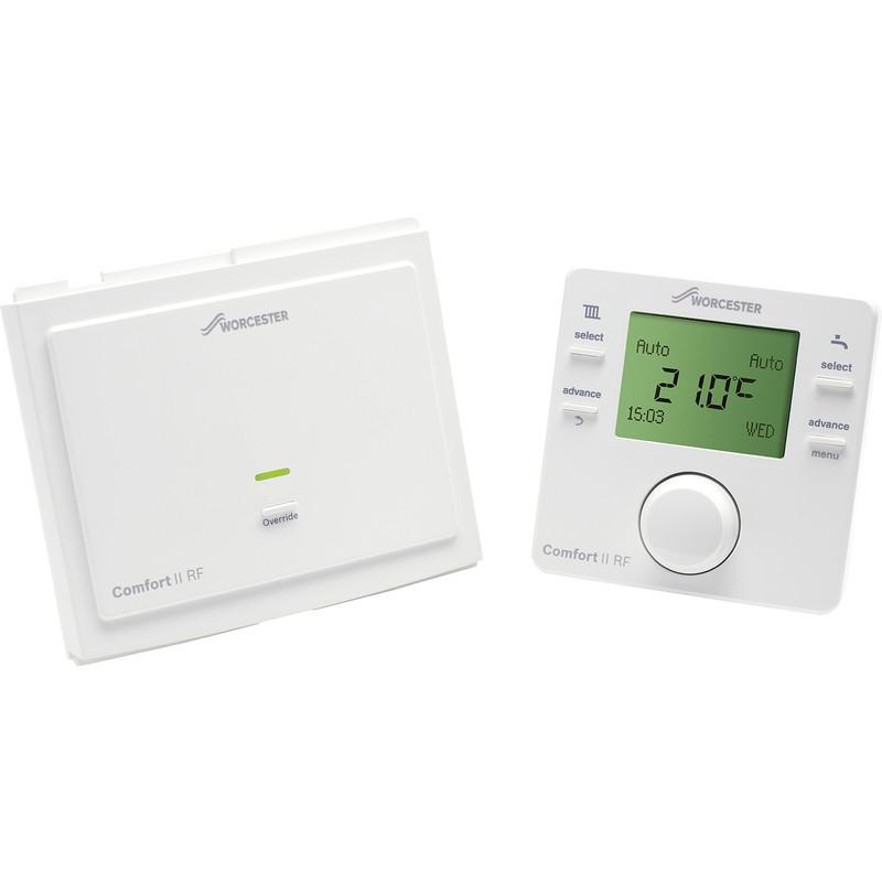 Worcester Greenstar Comfort II RF Twin Channal Pro Thermostat