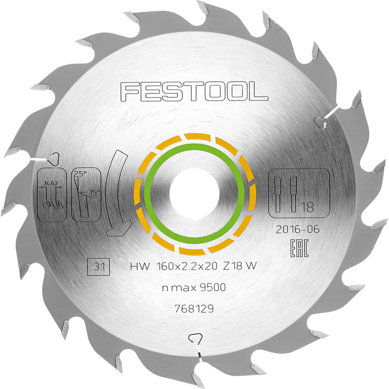 Festool TS55 Saw Blade