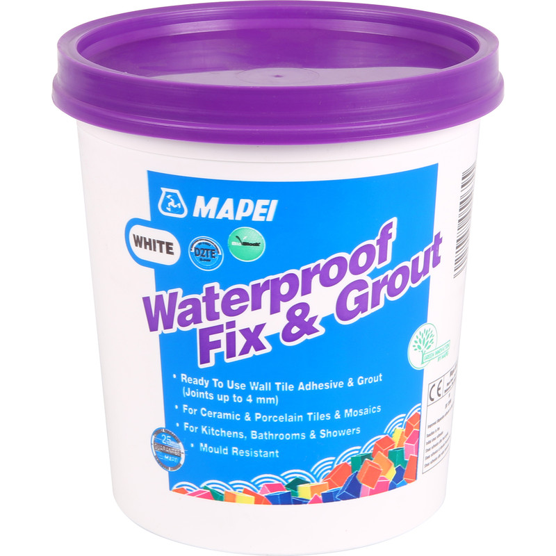 Mapei Waterproof Fix & Grout Tile Adhesive