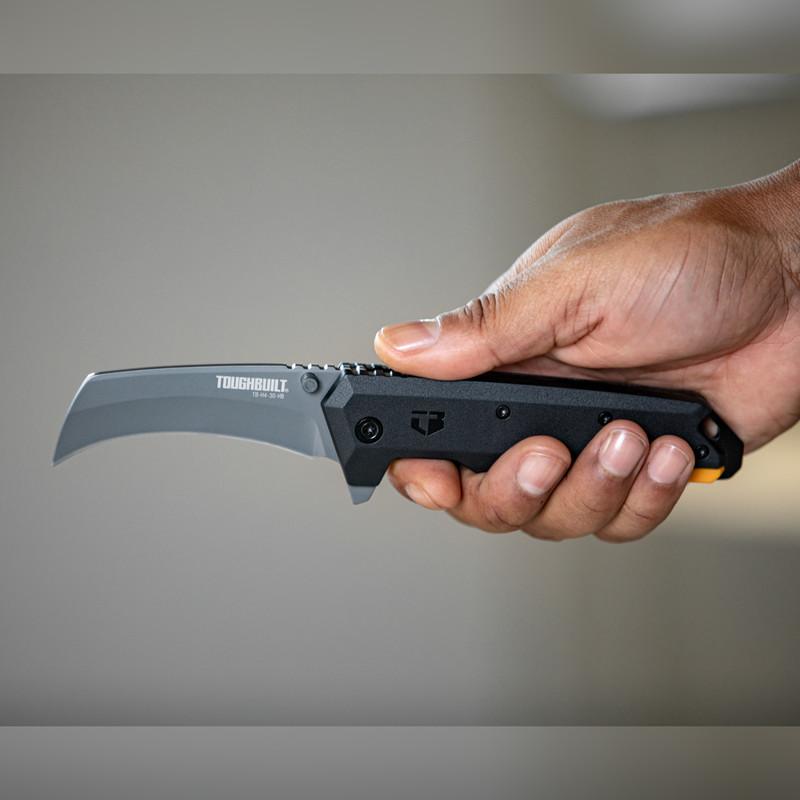 Toughbuilt Hawkbill Folding Knife