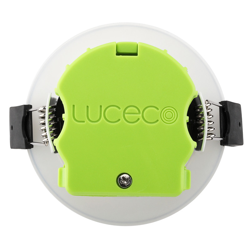 Luceco FType Integrated Dimmable 6W Fire Rated IP65 Downlight