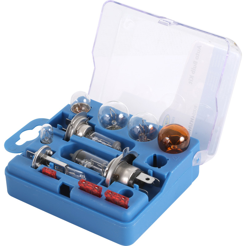 Universal Car Light Bulb & Fuse Kit