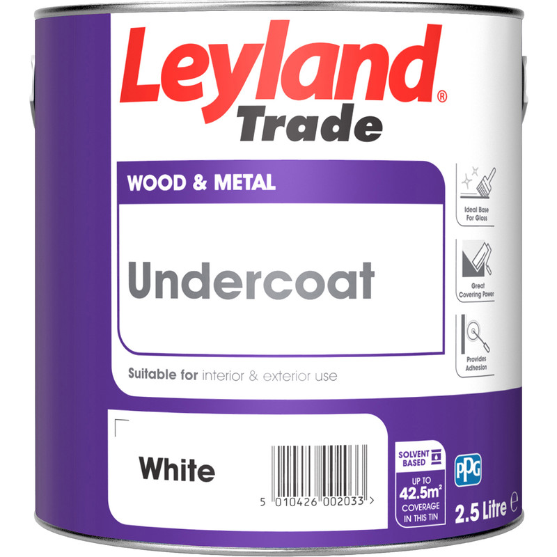 Leyland Trade Undercoat Paint