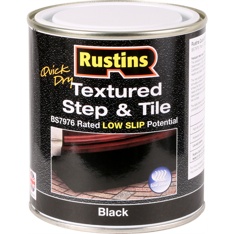 Rustins Quick Dry Textured Step & Tile Paint 500ml