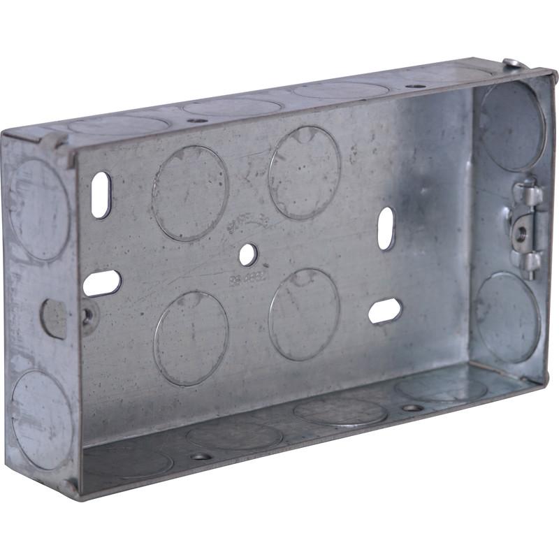 Metal Box 2 Gang