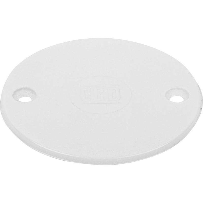 Pvc Box Lid Round White