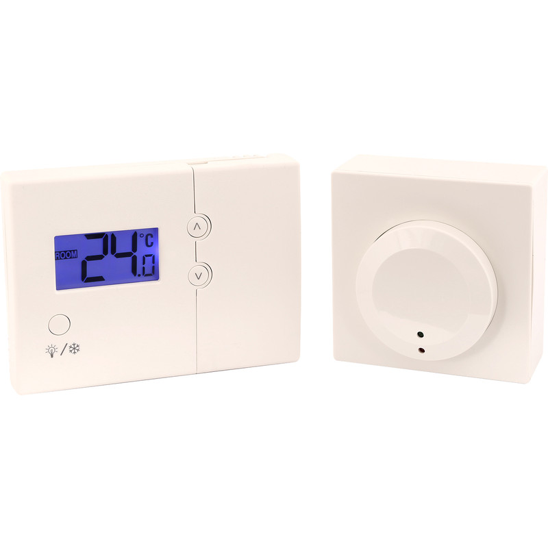 Tower RF Wireless Room Thermostat