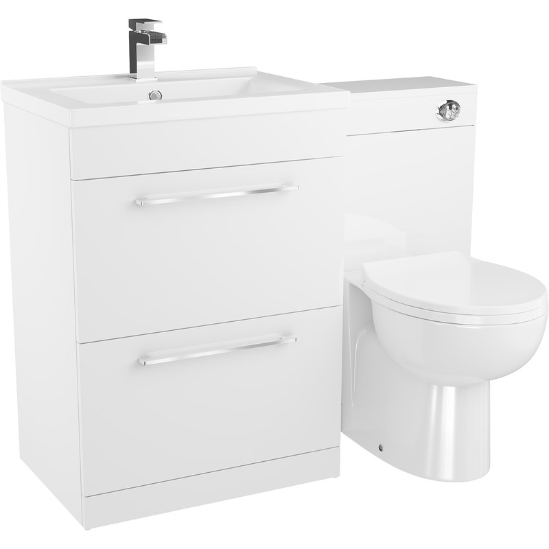 2 Drawer Bathroom Unit