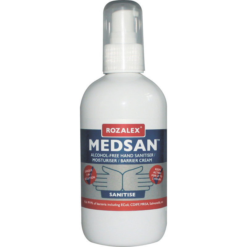 Rozalex Medsan Hand Sanitiser, Moisturiser & Barrier Cream