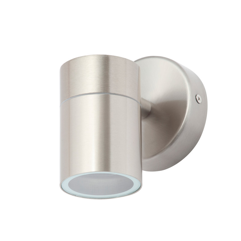Leto Stainless Steel Up or Down Wall Light IP44