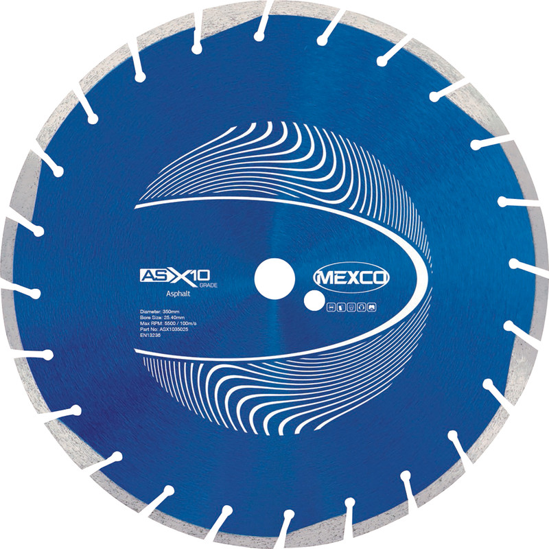 Mexco Asphalt Cutting Diamond Blade