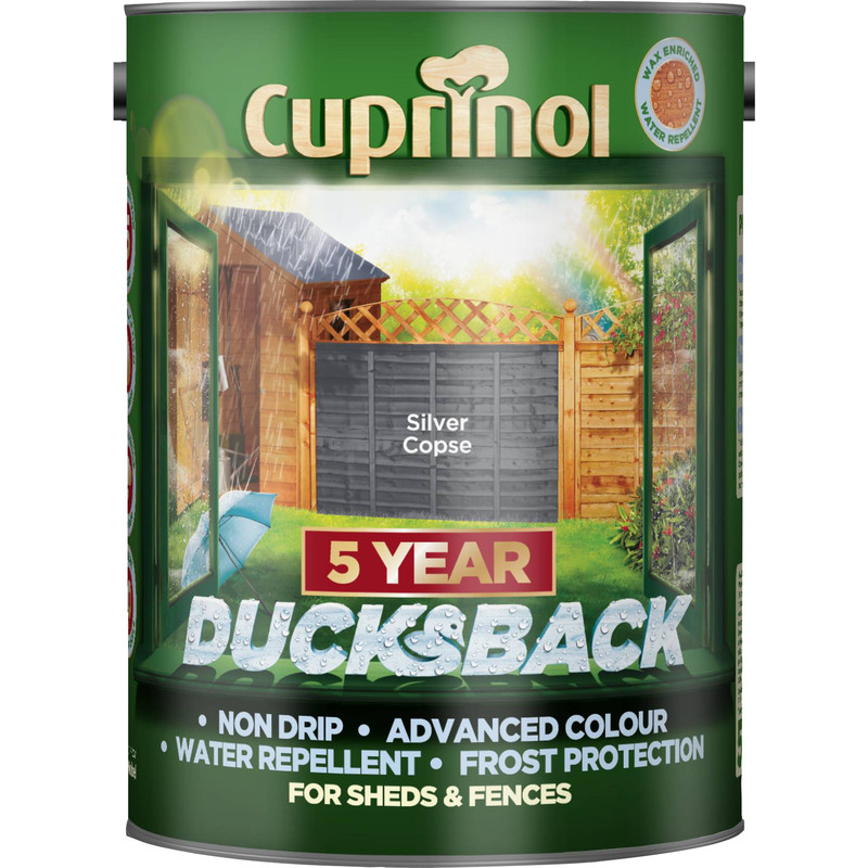 Cuprinol Ducksback Shed & Fence Treatment 5L