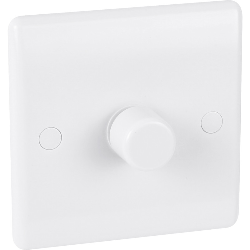 BG Low Profile Push Dimmer Switch