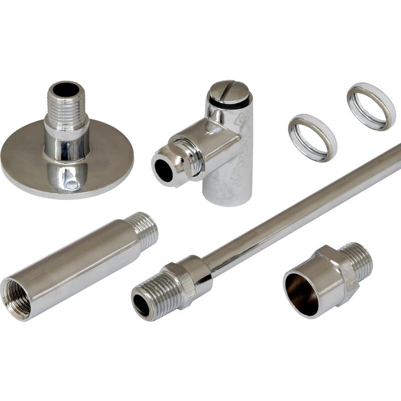 Gas Restrictor Kit Chrome