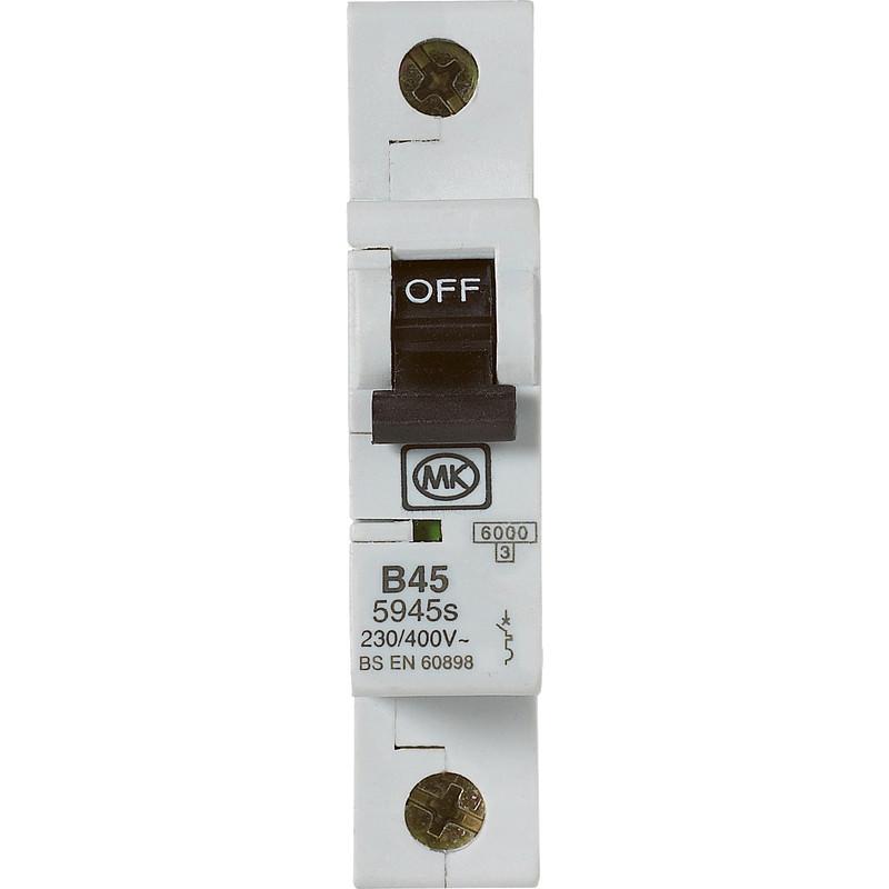 Nouveau wylex mcb 32A sp type b diy electric meter