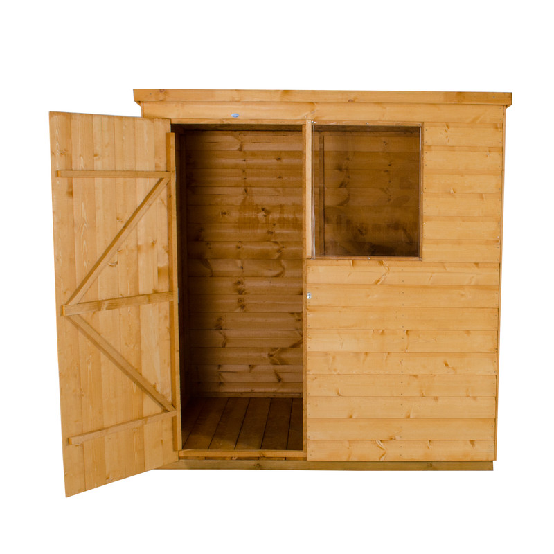Forest Garden Shiplap Dip Treated Pent Shed