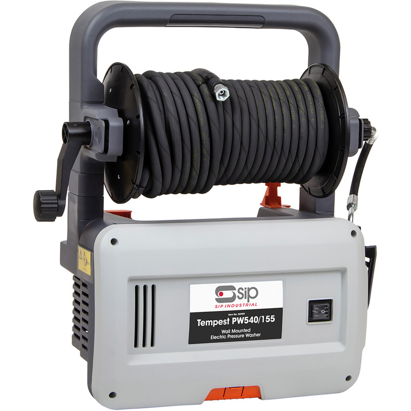 SIP 230v Tempest PW540/155 Wall Mounted and Portable Pressure Washer