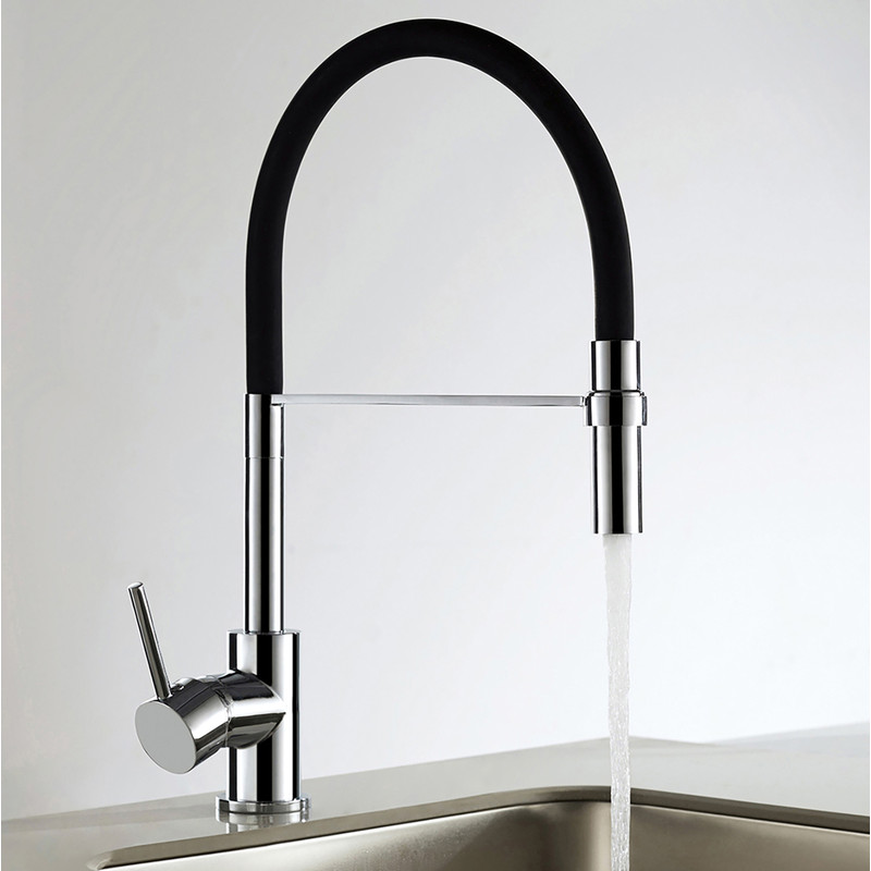 Montacute Pull Out Mono Mixer Kitchen Tap