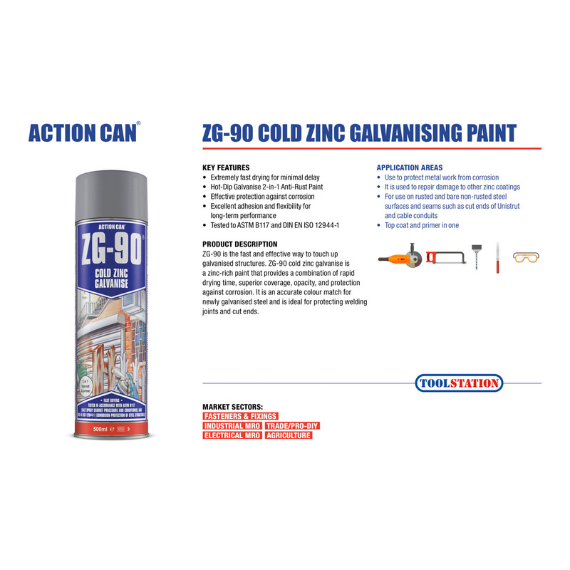 Action Can ZG-90 Silver