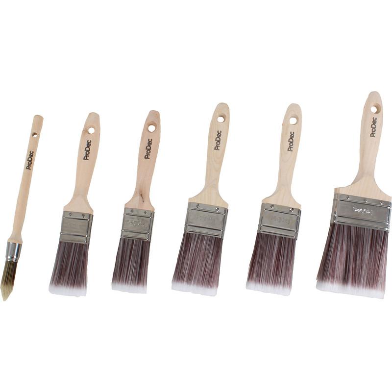 Prodec Premier Paintbrush Set with Free Sash Brush
