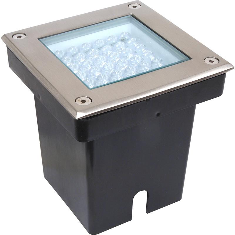 super popular 682ca 0f2f9 LED 2.9W Square Ground Light IP67 12V AC White