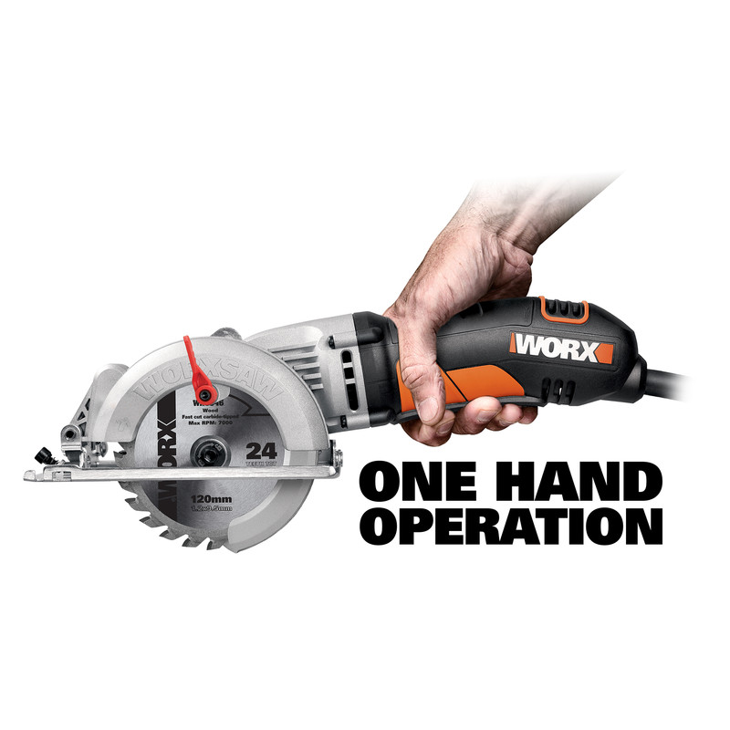 Worx WX429 400W 120mm Compact Circular Saw