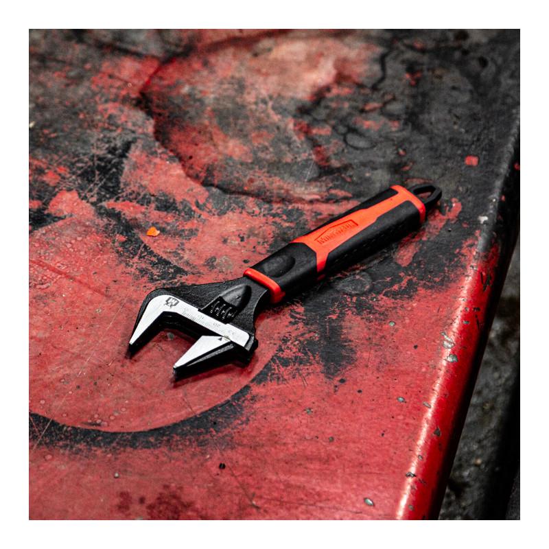 Minotaur Adjustable Wide Jaw Wrench