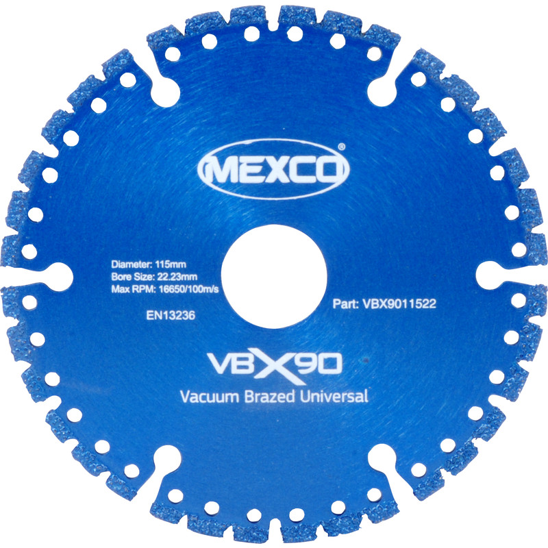 Mexco Vacuum Brazed Diamond Blade
