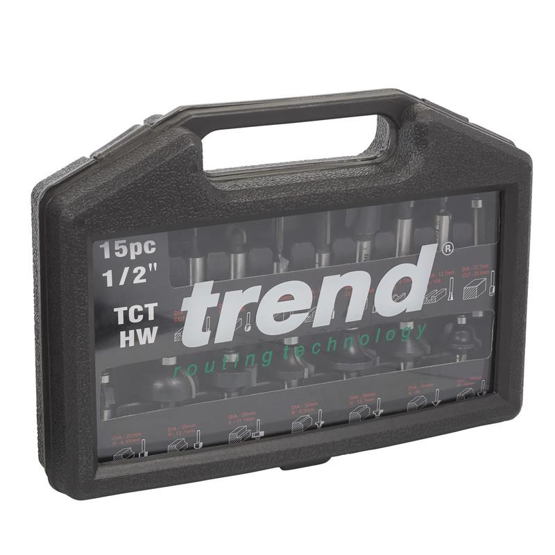 """Trend 1/2"""" Router Cutter Starter Set"""