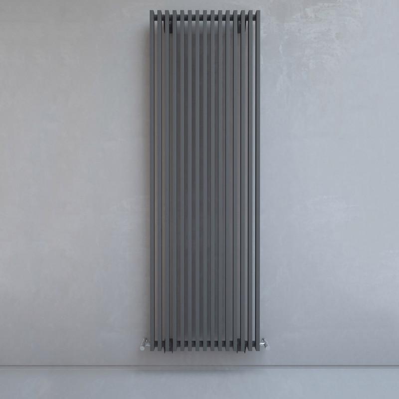 Kudox Xylo Anthracite Designer Radiator