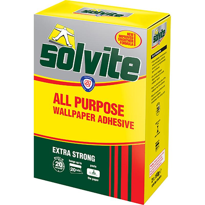 Solvite All Purpose Wallpaper Adhesive