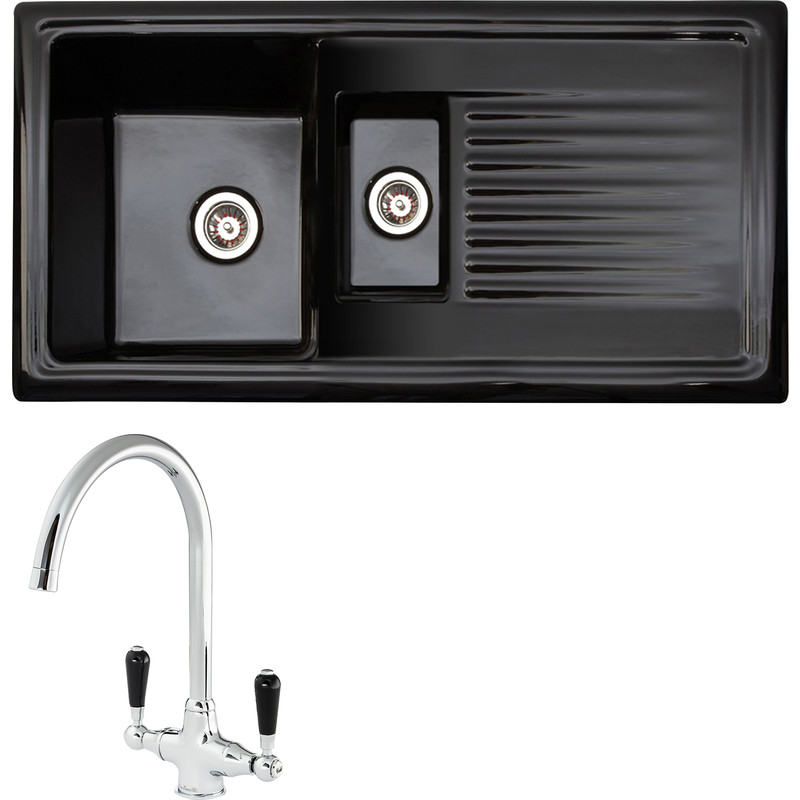 Reginox Reversible Ceramic Kitchen Sink & Drainer
