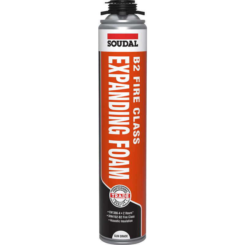 Soudal B2 Fire Rated Expanding Foam