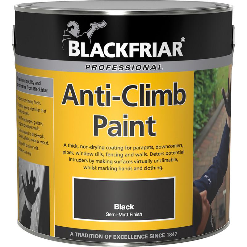 Blackfriar Anti-Climb Black Paint
