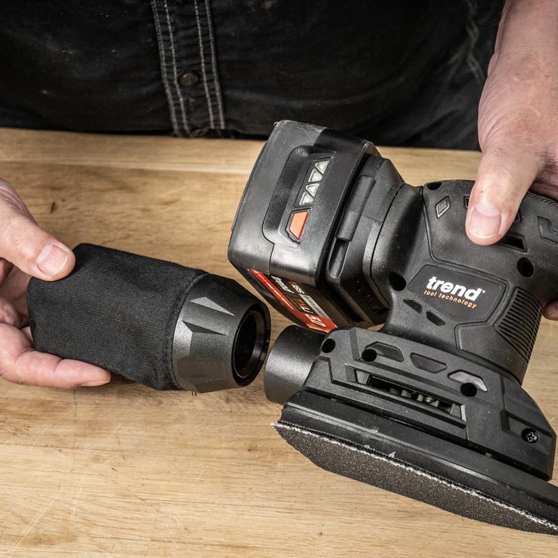 Trend T18S/DSB 18V Cordless Detail Sander