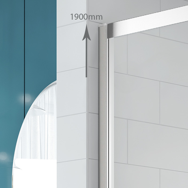 Merlyn NIX Sliding 2 Door Quadrant Shower Enclosure
