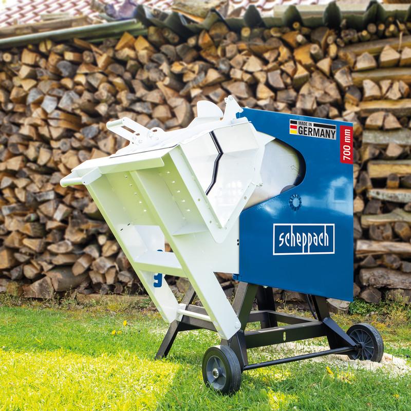 Scheppach HS720 3000W 700mm Log Saw - Assembled