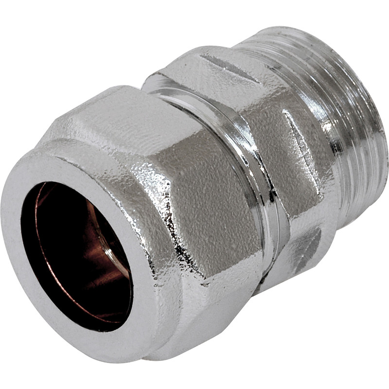 Made4Trade Compression Coupler Male Chrome Plated