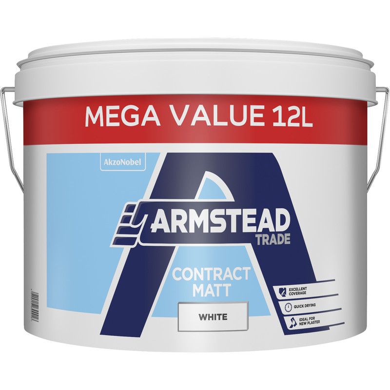 Armstead Trade Contract Matt Emulsion White