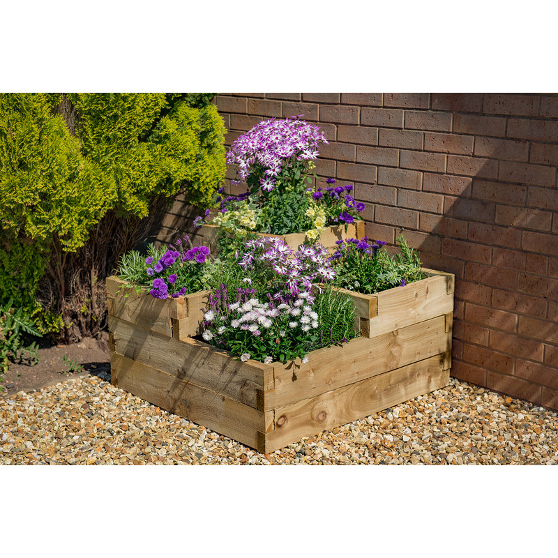 Forest Garden Caledonian Tiered Raised Bed