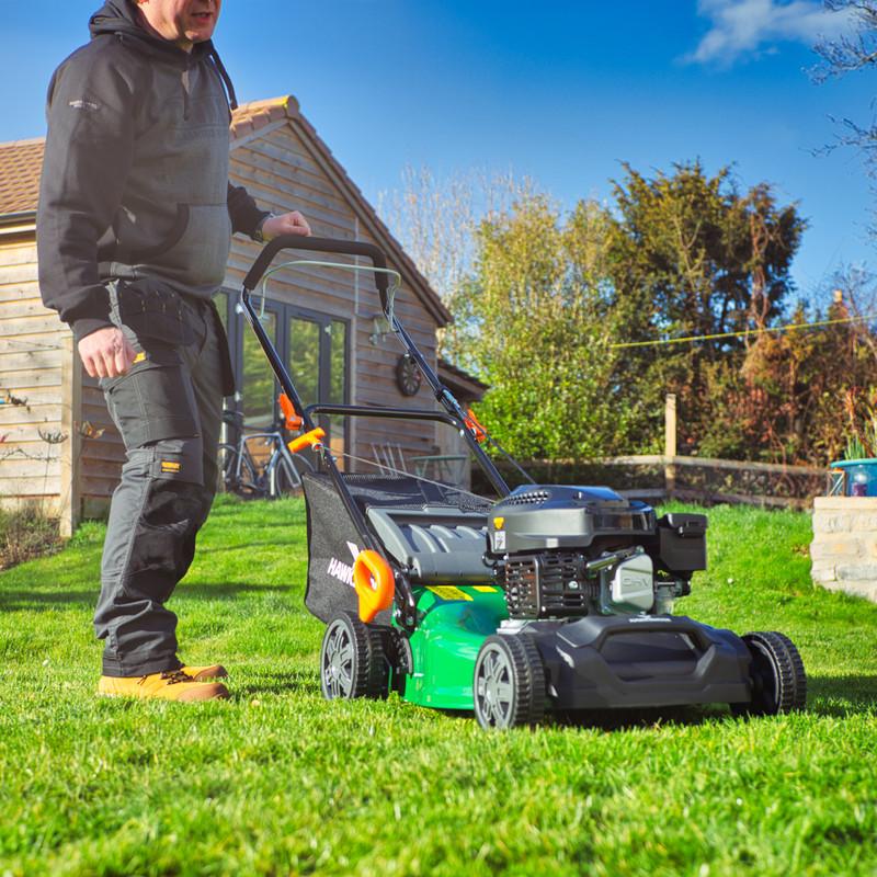 Hawksmoor 144cc 46cm Petrol Lawnmower
